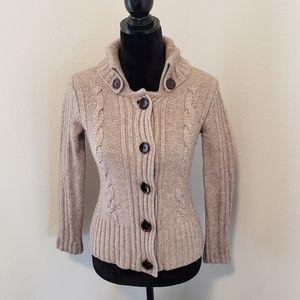 B2G1 Banana Republic Lamb Wool Cable Knit Sweater